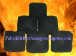 Coconut Shell Charcoal Briquettes Pillow